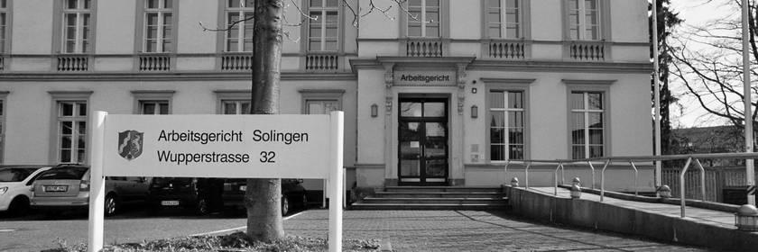 Arbeitsgericht Solingen